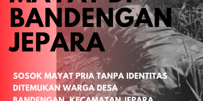Mayat Tanpa Identitas Ditemukan di Perswahan Bandengan Jepara